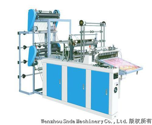 4 line bottom sealing and cutting bag machine