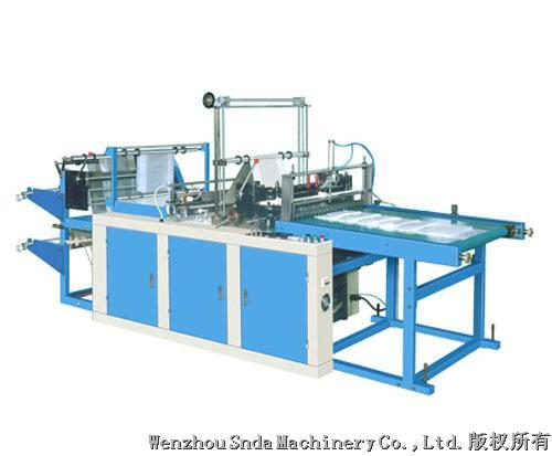 2 layer bottom sealing bag machine(conveyor)