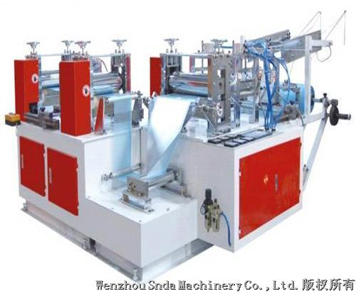 PE film shoe cover making machine