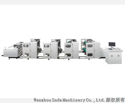 High Speed 8 Color Flexo Printing Press