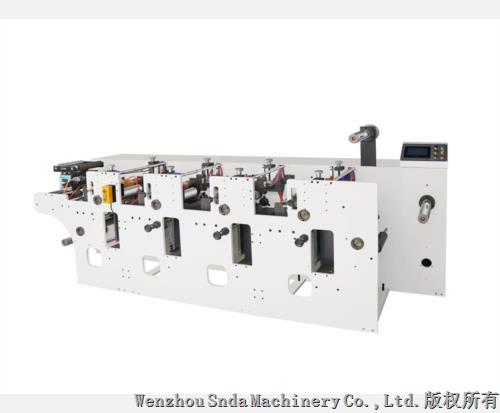 4 Color Mini Label Printing Machine