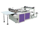 Roll paper sheet cutting and slitting machine